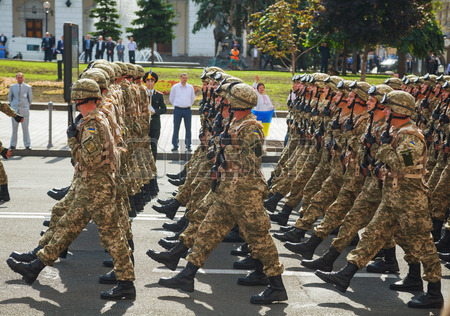 Ukraine parade