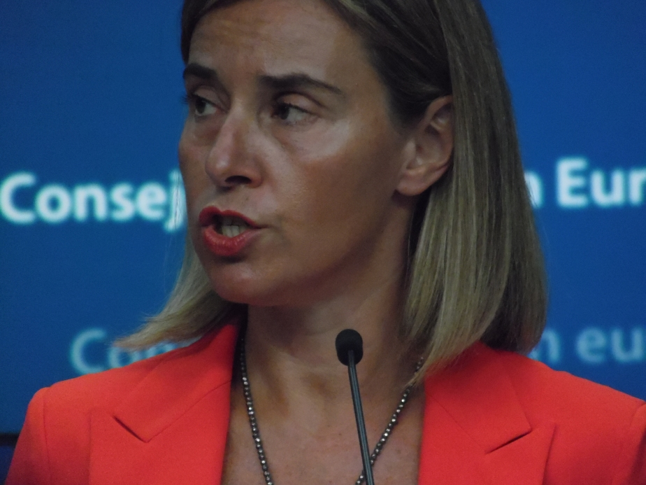"Mogherini ""so ashamed ofEU"""