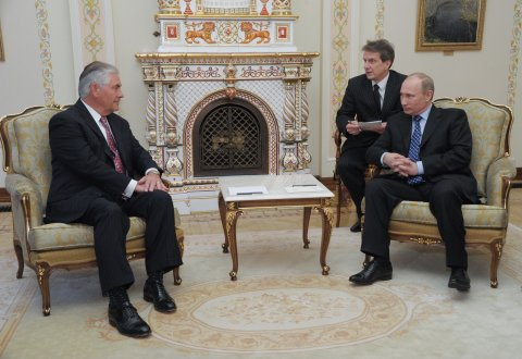 Putin and Tillerson