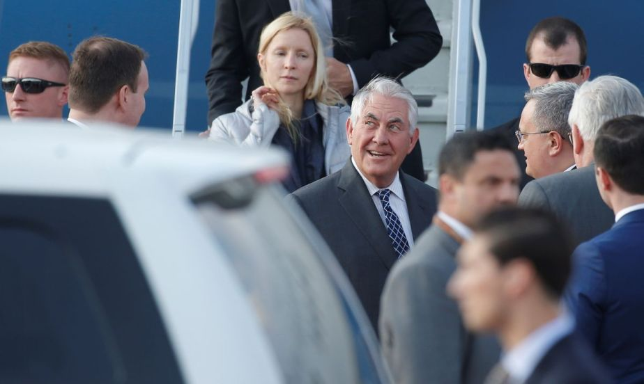 Tillerson Moscow