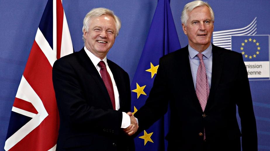 Brexit talks inBrussels