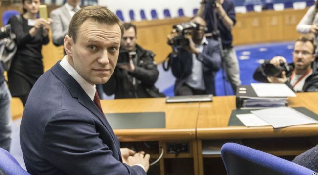 Russia barred Navalny visit to ECHR