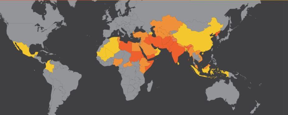 Christian map