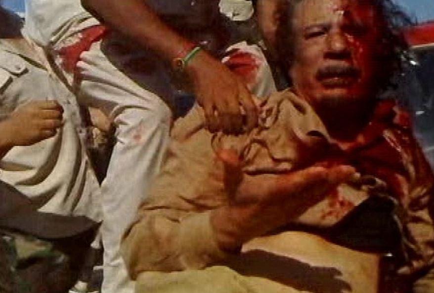Gaddafi killing