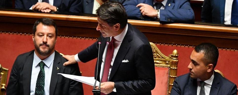 Salvini rise ends Triumvirate