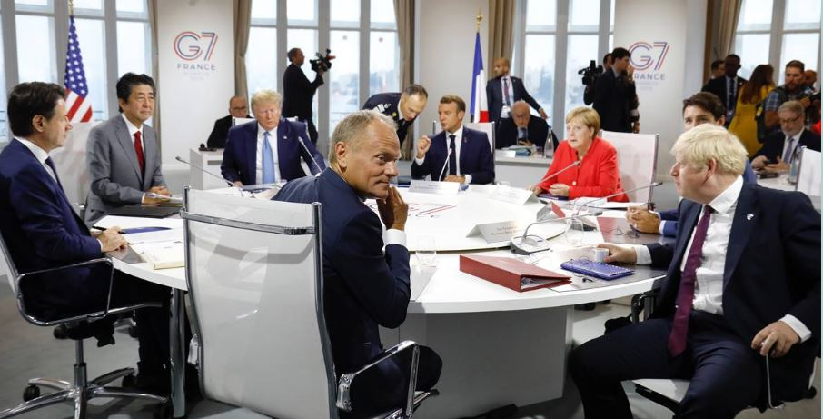G7: Tusk waywardness in Juncker absence