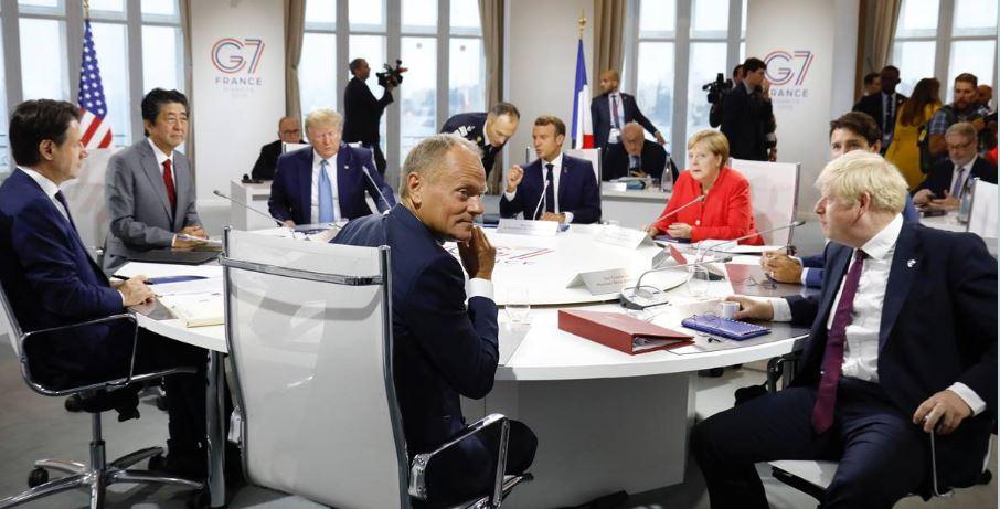 G7: Tusk waywardness in Junckerabsence