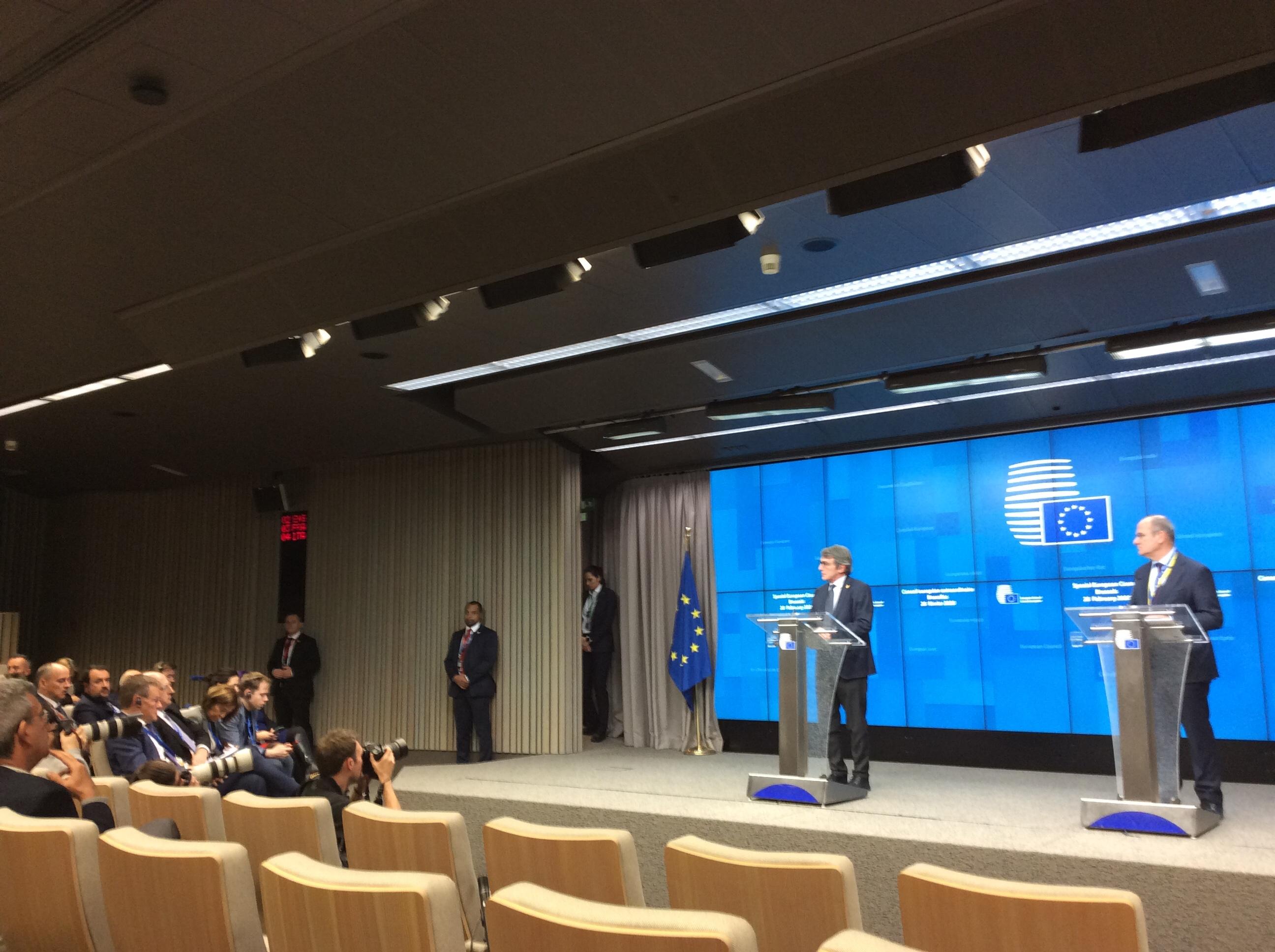 EU budget: Sassoli's Passions