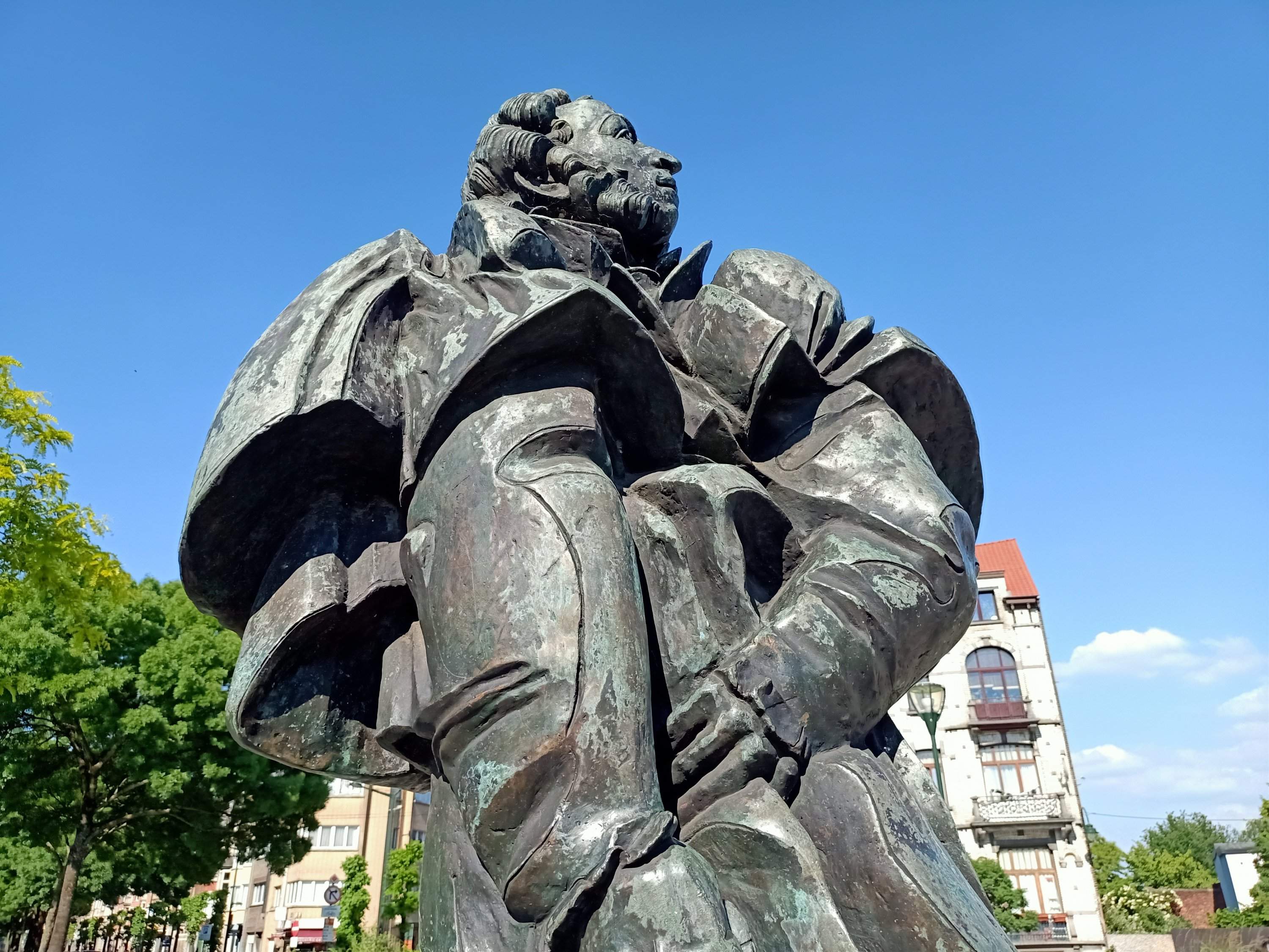 Brussels: no wreath to Pushkin